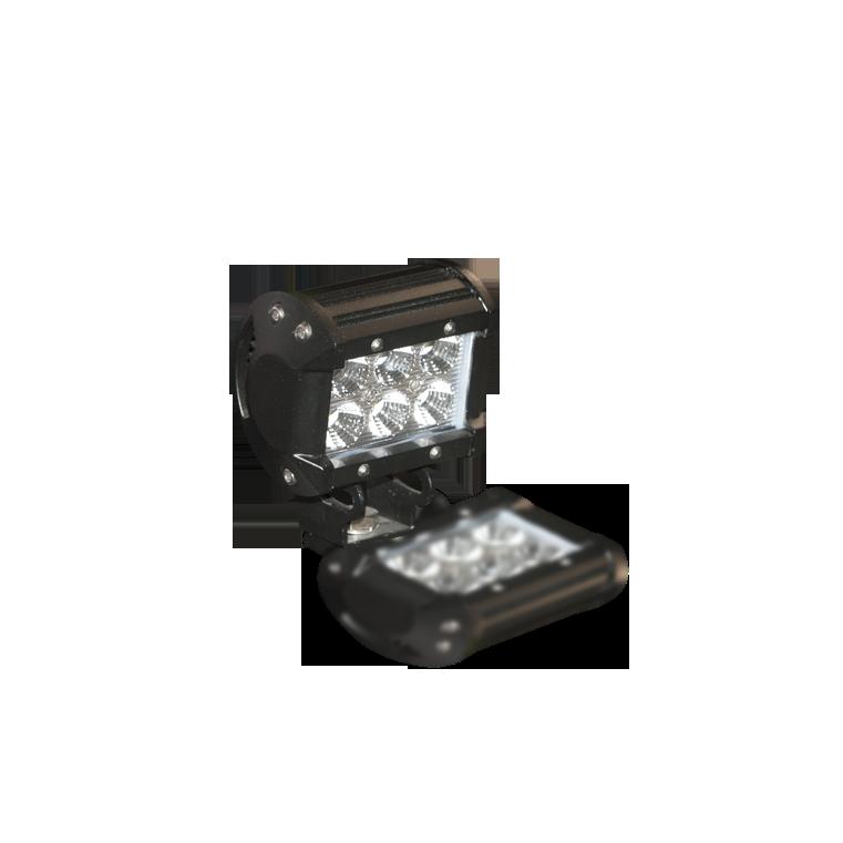 accessoire rampe leds 18w 9,5x11,3x6,6cm