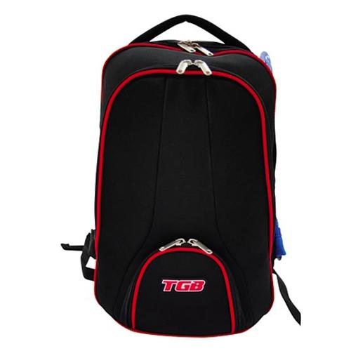 accessoire sac a dos rouge et noir