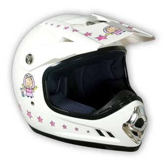Accessoire casque enfant girly taille s