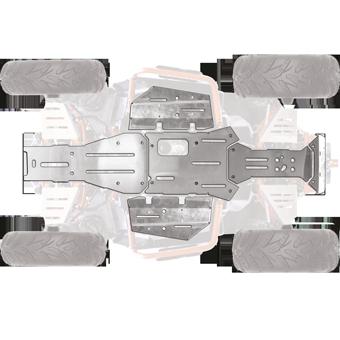 Kit protection chassis aluminium segway at6l