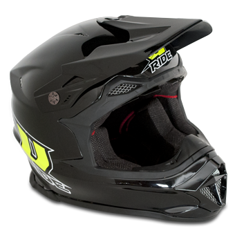 CASQUE CROSS MX-1 NOIR