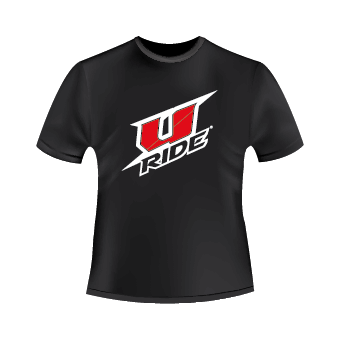 T-Shirt noir U-Ride