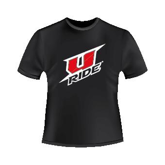 T-Shirt noir U-Ride